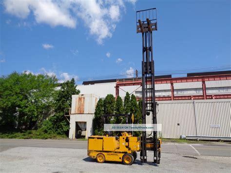 drexel swing mast drexel sl44 4 4 000lb electric swing mast forklift