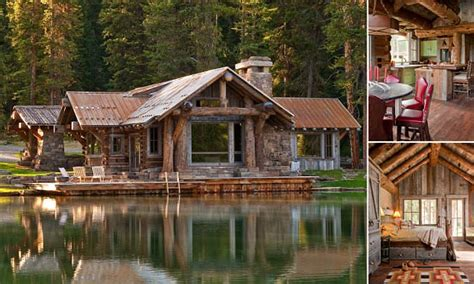 10 most beautiful log homes beautiful log cabin home log montana s headwaters c guest cabin comes with elk horn