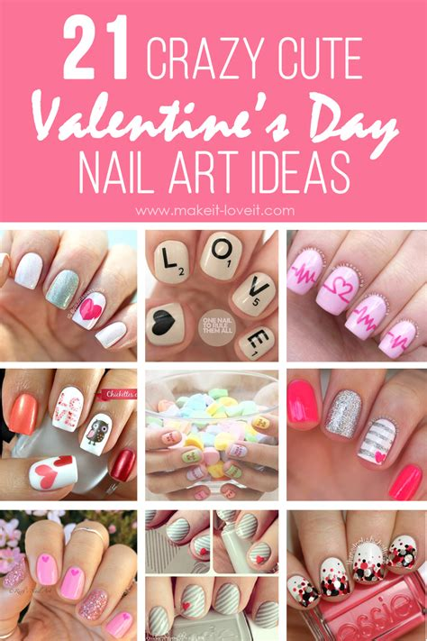 valentines day ideas on 21 s day nail ideas make it