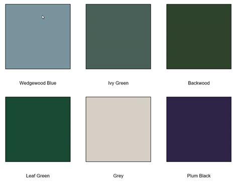 100 paint color matching house color schemes
