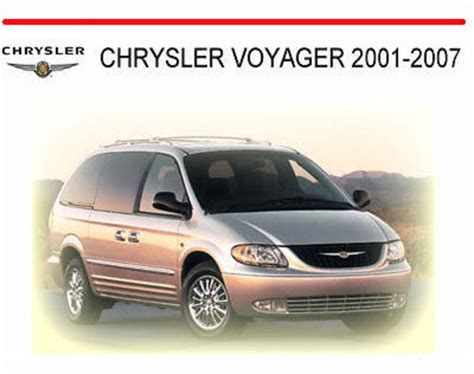 motor auto repair manual 2002 chrysler voyager electronic toll collection chrysler voyager 2001 2007 workshop repair manual download manual