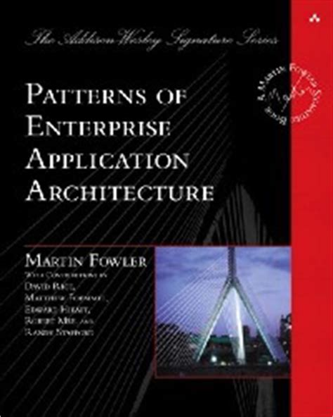 Design Pattern Martin Fowler | patterns of enterprise application architecture 171 free