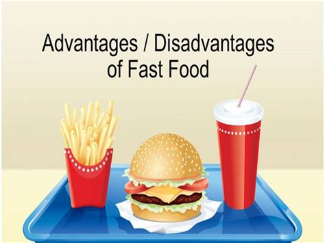 Advantages And Disadvantages Of Fast Food Authorstream Fast Food Ppt Slides