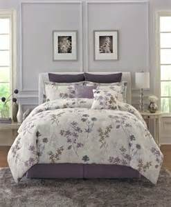 Lavender And Gray Bedroom Purple Bedding Comforters Duvets And Bed In A Bag