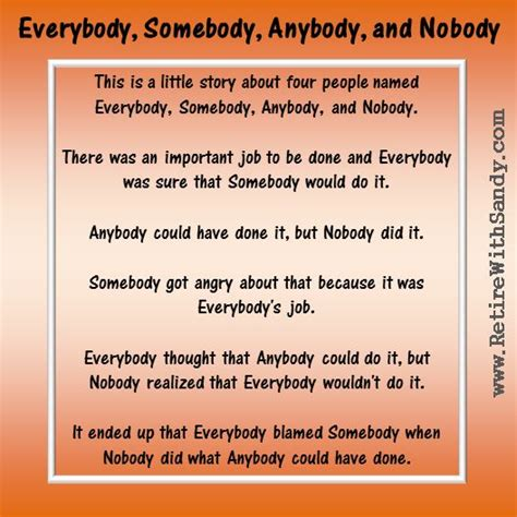quote roundup a little something different by sandy hall mac everybody somebody anybody and nobody designs by