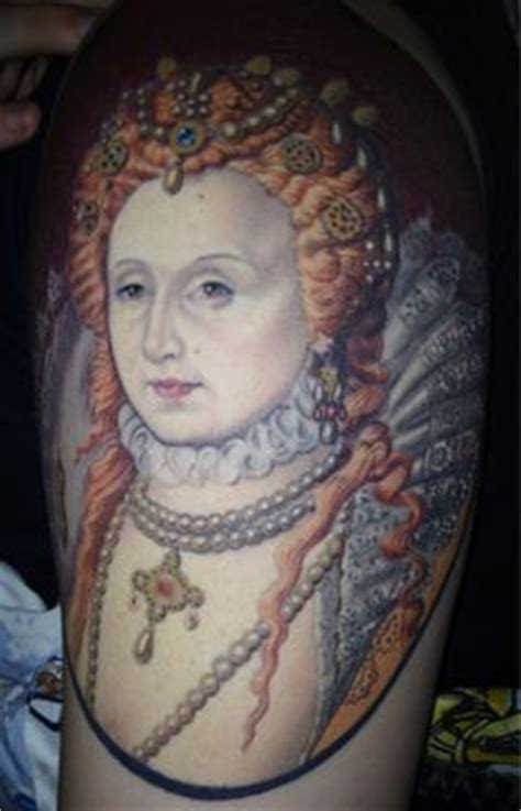 tattoo queen elizabeth history tattoos on pinterest anne boleyn annie oakley