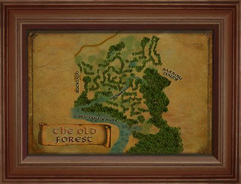 lotro old forest map item map of the old forest lotro wiki com