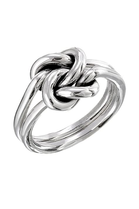 salvador jouhayerk silver knot ring from cambridge