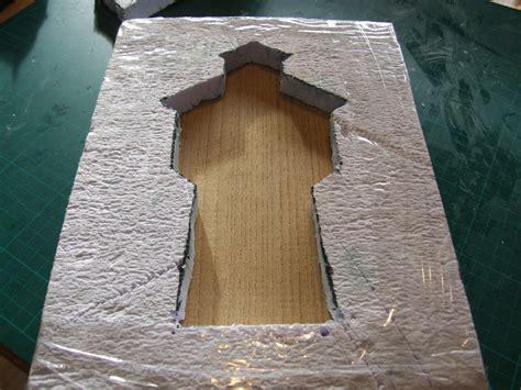 Betonplatten Selber Herstellen by Beton Gie 223 Form Mit Einem Messer Selbst Herstellen Ein