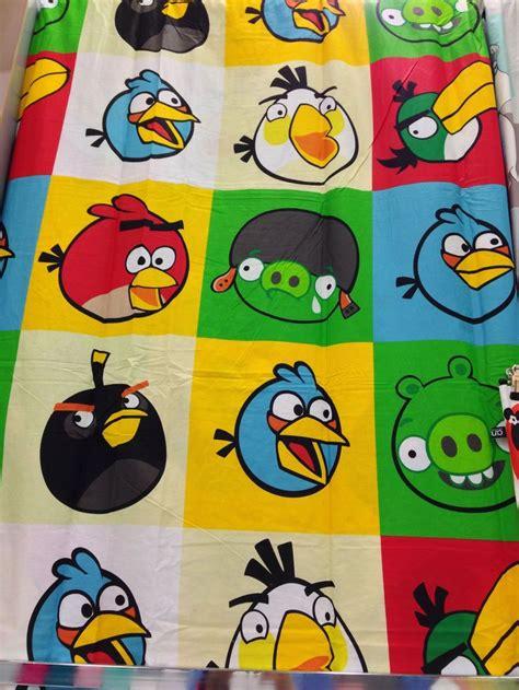 angry birds curtains angry birds curtains angry birds branded stuff