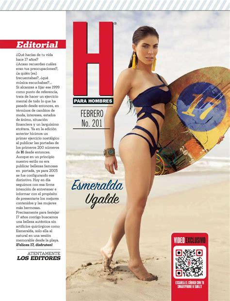 en revista h de febrero 2016 esmeralda ugalde revista h febrero 2016 elbloog