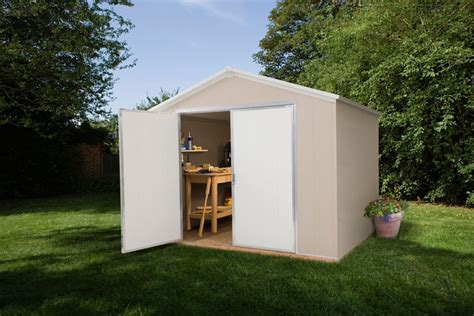 Vinyl Shed Canada by Santa Rosa Garden Shed 8 Ft X 12 Ft Sr812 Canada