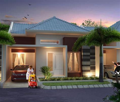 Desain Gambar Rumah Minimalis Type 45 | rumah minimalis type 45 1 lantai desain fasad rumah