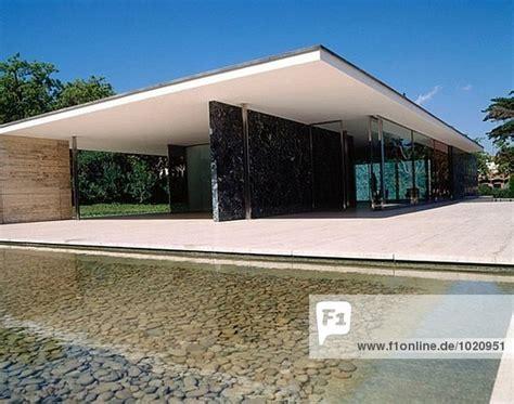 barcelona deutscher pavillon die fundaci 243 mies der rohe deutscher pavillon f 252 r die