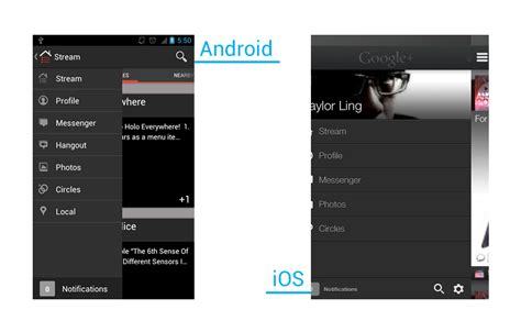 ui pattern navigation side navigation ui pattern in android androiduiux