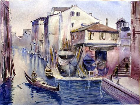 old boatyard venice 17 best images about my paintings on pinterest charles