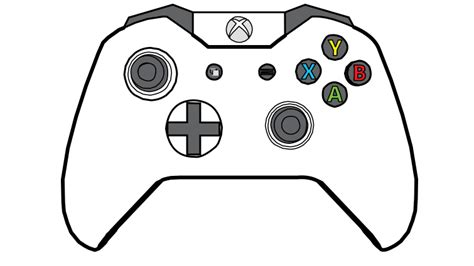 coloring page xbox controller game controller control coloring pages coloring pages