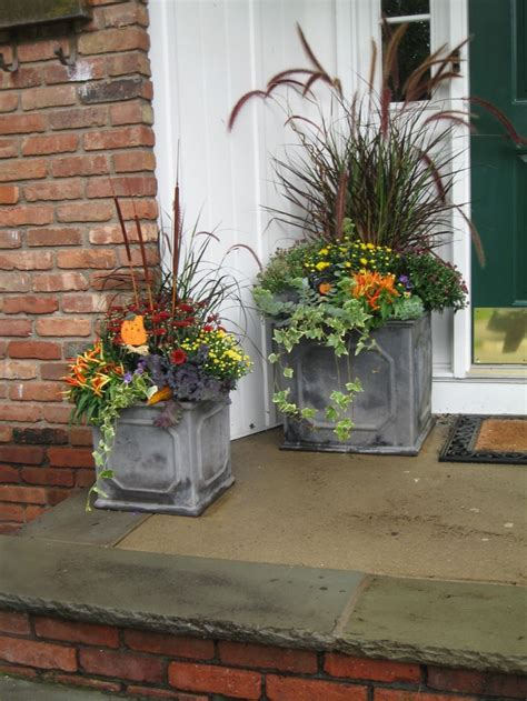 Fall Planter Ideas fabulous fall containers container gardening planters and design