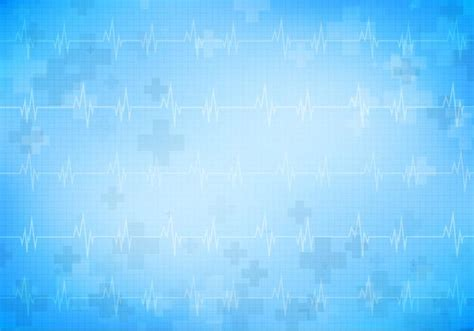 hospital background checks free vector background with monitor