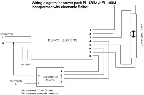 wiring diagram for electronic ballast wiring diagram for