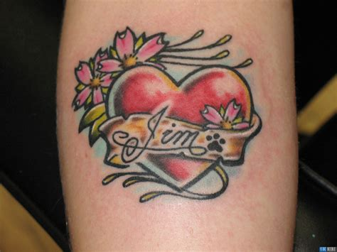 unique love tattoo designs for couples love heart tattoo