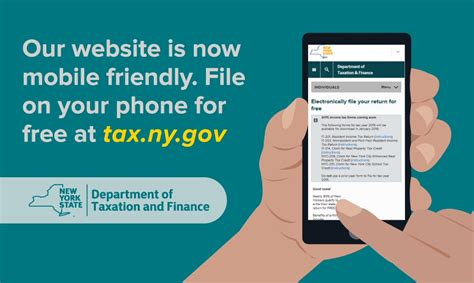 Nyc Gov Property Records Reminder File On Your Phone At Tax Ny Gov Now Available En Espanol