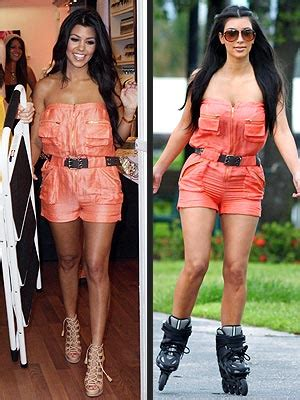 Who Wore Bebe Better by Poll Who Wore It Best Kourtney Or
