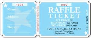 Sample raffle ticket templates formal word templates sample raffle