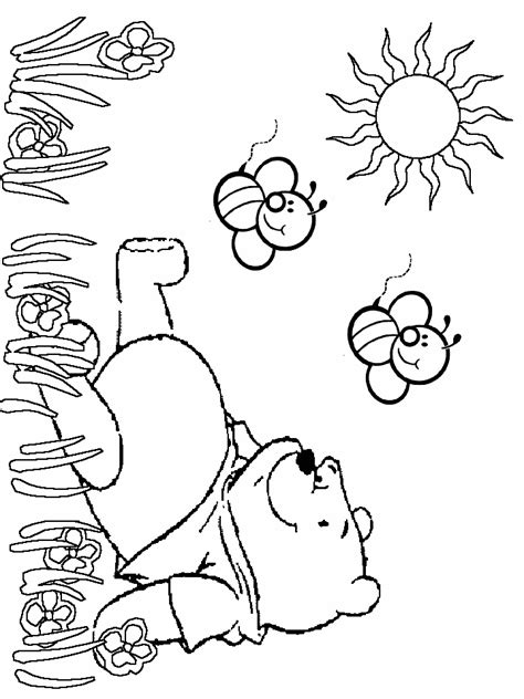 classic pooh coloring pages coloring home