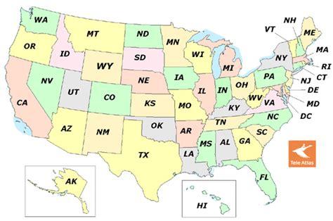 NANPA : Area Code Map