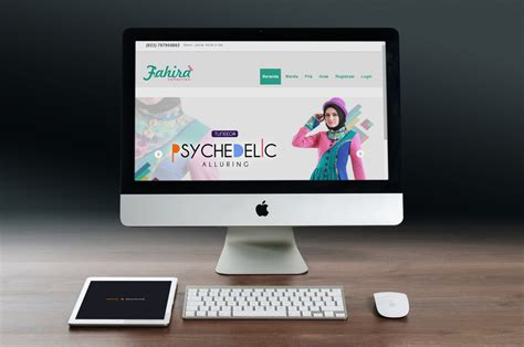 Contoh Online Shop Busana Muslim Modern