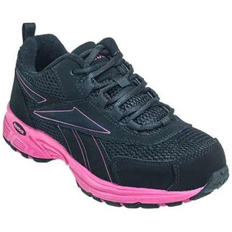 womens steel toe tennis shoes reebok s athletic steel toe work shoe rb486