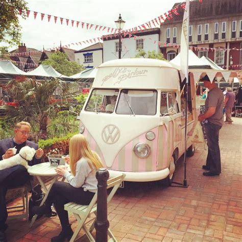 pollys parlour vintage vw splitscreen ice cream van hire polly s parlour vintage vw ice cream van hire vintage