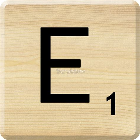 Letters In Scrabble Scrabble Letter E E Is For Scrabble
