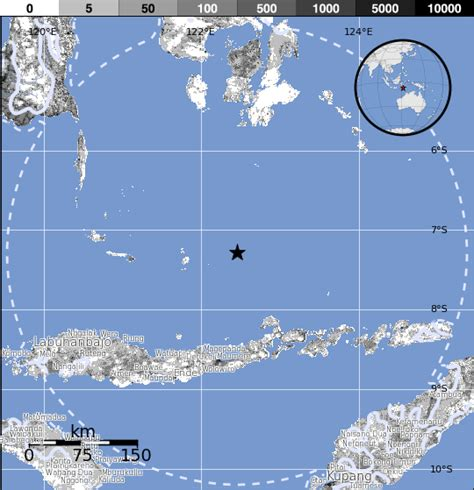 earthquake flores deep m6 0 earthquake hits off the coast of palau flores