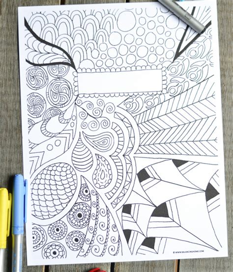 Coloring Page Binder Cover by Binder Cover Template 27 Free Printable Word Pdf Jpg