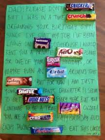 that s sweet a birthday card of chocolate bars