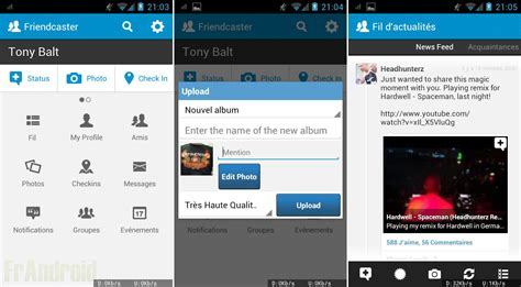 android version 5 0 friendcaster la version 5 0 1 est disponible sur android