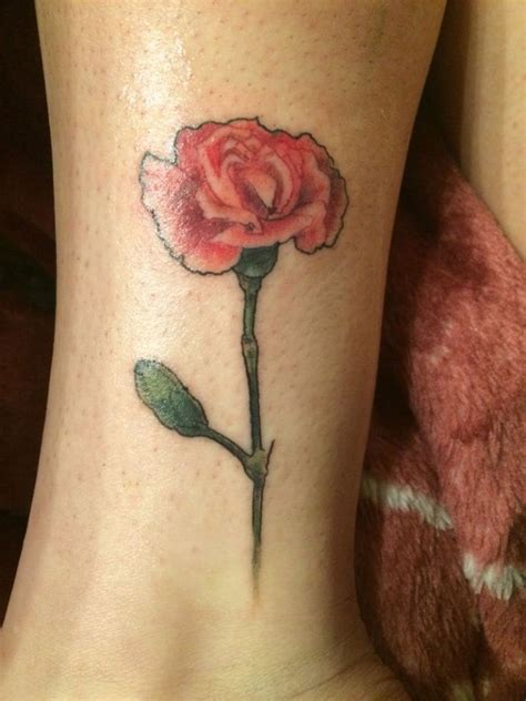 pink carnation tattoo design carnation tattoos tattoofanblog