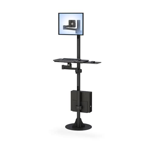 Treadmill Computer Desk Pole Mount Computer Station Afcindustries Com