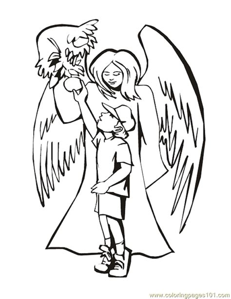 coloring pages of angels to print printable angels coloring home