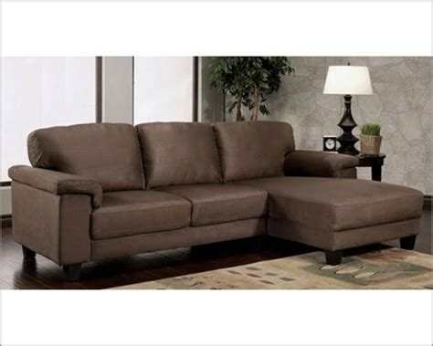 brown microsuede sofa abbyson camden dark brown microsuede sectional ab 55ci