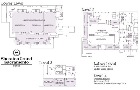 grandview suites floor plan sacramento event space floor plans sheraton grand
