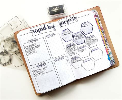 bullet journal setup august bullet journal set up travelers notebook 3 projects