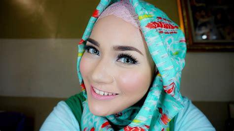 tutorial hijab menggunakan bahasa inggris natural look makeup tutorial hijab bahasa youtube