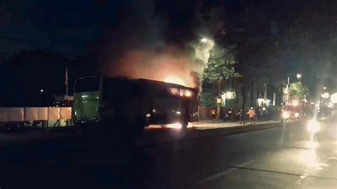 Arimbi Maxy mobil arimbi terbakar di depan terminal pakupatan