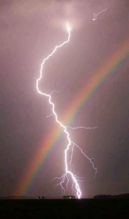 Thunder Rainbow thunder lightning and rainbows