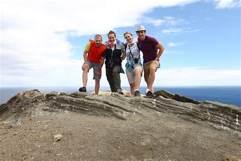 turisti per caso azzorre foto scalata al vulcano pi 249 giovane delle azzorre viaggi