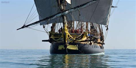 bateau hermione corse l hermione fera escale en corse l ann 233 e prochaine sud
