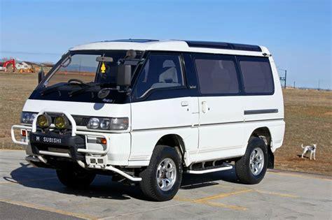 mitsubishi delica 4x4 1990 mitsubishi delica 4x4 jdm cer for sale